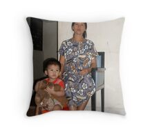 Generations - Harna Throw Pillow