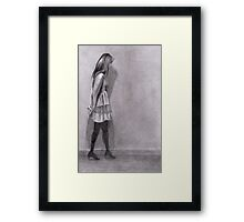 Drawing Of My Daughter Framed Print