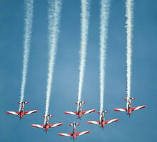 Roulettes - RAAF aerobatic team by Mark Lee