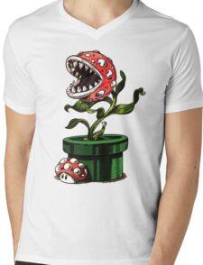 1up or nut up Mens V-Neck T-Shirt