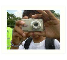 Camera Kid- Ma Liani Art Print