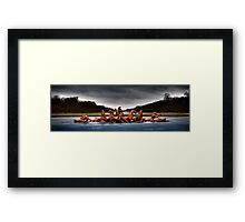 Horsemen of the Fountain Framed Print