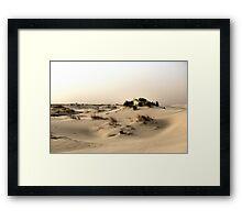 Monahans White Sand Hills ~ Desert Storm ~2 Framed Print