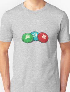 Zombies Perk Bottle Caps T-Shirt
