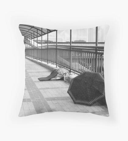 Better Days - Peter Jackson Throw Pillow