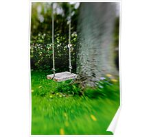 Swing on the tree Poster
