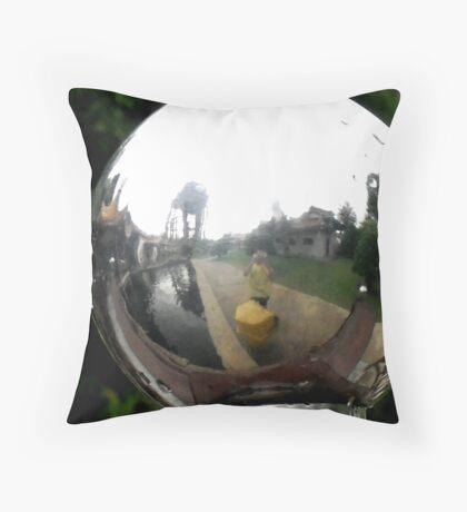 Fish Eye - Peter Jackson Throw Pillow