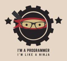 programmer : i'm a programmer, i'm like a ninja by dmcloth