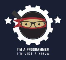Programmer : I'm a programmer. I'm like a ninja by dmcloth