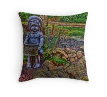 Helpful Gnome Throw Pillow