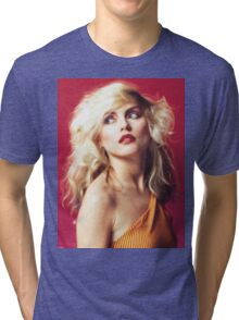Debbie Harry, Red Tri-blend T-Shirt