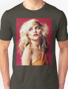 Debbie Harry, Red Unisex T-Shirt
