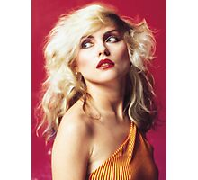 Debbie Harry, Red Photographic Print