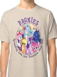 Bronies, classic logo Classic T-Shirt