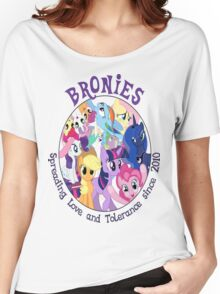 Bronies, classic logo Women's Relaxed Fit T-Shirt