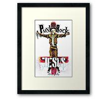 Punk Rock Jesus Framed Print