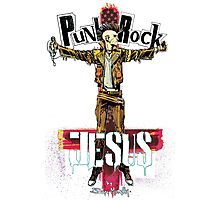 Punk Rock Jesus Photographic Print