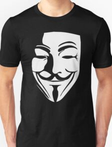 V per Vendetta FACE film horror CINEMA&TV T-Shirt