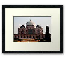 Humayun's Tomb Framed Print