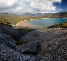 Sealers Cove from Lookout Rocks by Travis Easton