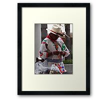 The True Humans II - Los Seres Humanos Verdaderos Framed Print