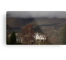 Rolling clouds in Keswick Metal Print
