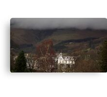 Rolling clouds in Keswick Canvas Print