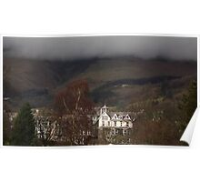 Rolling clouds in Keswick Poster
