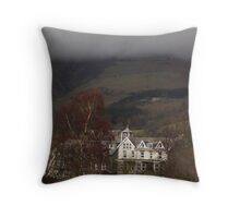 Rolling clouds in Keswick Throw Pillow