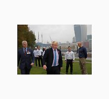 Boris Johnson takes part in a tug of war outside City Hall Unisex T-Shirt