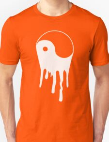 Yang And Yin Dripping Chinese Symbol Fashion Geek Samurai T-Shirt