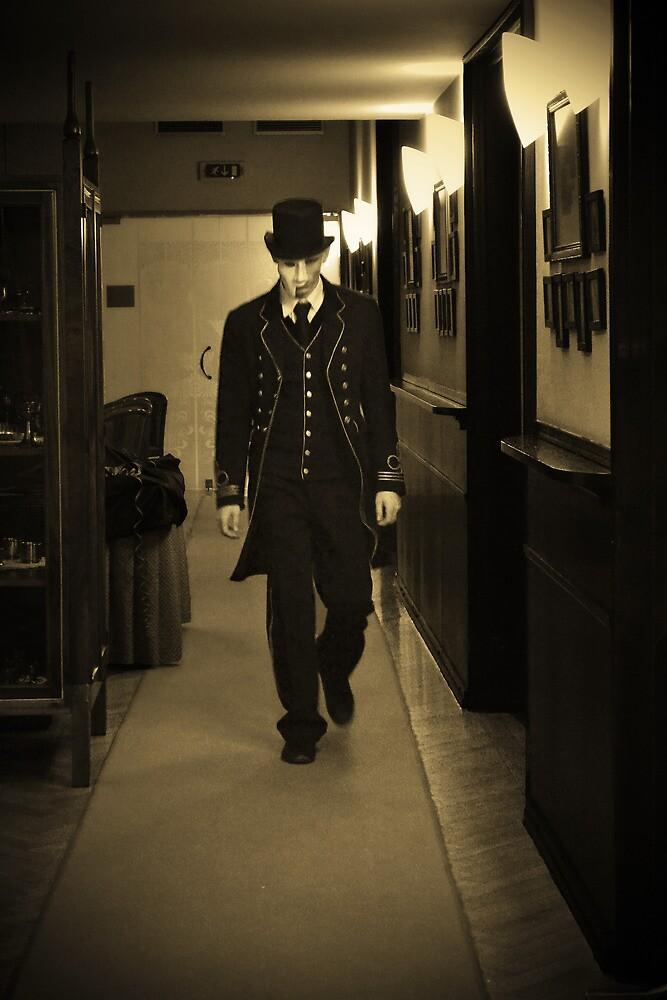 Phantom of the old Coffee shop by Katarina Kuhar