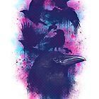 Family of Ravens by Lou Patrick Mackay