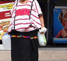Indian Lady - Señora Indigena by Bernhard Matejka