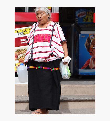 Indian Lady - Señora Indigena Photographic Print