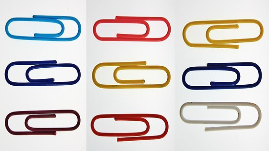 Nine Paper Clips by Matthew Floyd