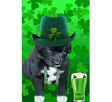 ♥‿♥ DO U EVER FEEL AFTER A FEW DRINKS YOUR SEEING WAY TOO MANY SHAMROCKS?? ♥‿♥ Photographic Print