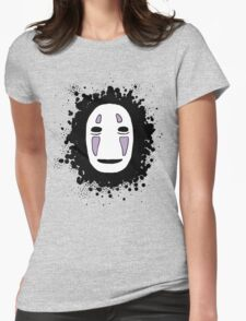 No face 1 Womens Fitted T-Shirt