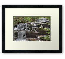 Leura Cascades, Blue Mountains, NSW, Australia Framed Print