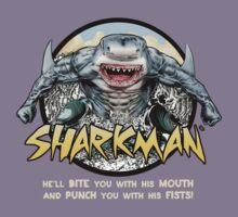 Shark-Man Kids Tee