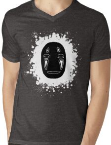 no face 2 Mens V-Neck T-Shirt