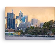 Sydney Sunset 04 16-07-09 Canvas Print