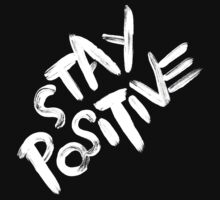 Stay Positive One Piece - Short Sleeve