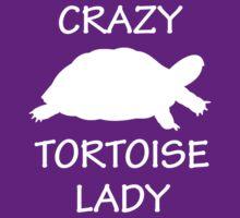 Crazy Tortoise Lady (White) by Iceyuk