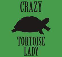 Crazy Tortoise Lady (Black) by Iceyuk