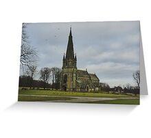 St. Mary's Church - Studley Royal, Ripon Greeting Card