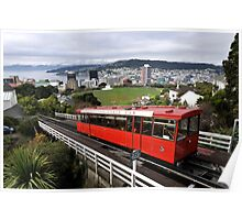 Wellington Cable Car Poster
