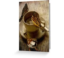 Cold Coffee Greeting Card