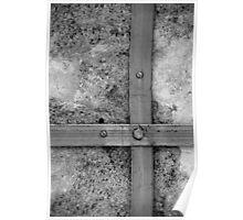 Aligned screws Poster