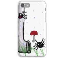 Cute Spider Couple - Itsy Bitsy Spider iPhone Case/Skin